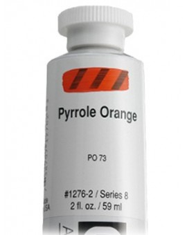 Golden Heavy Body Acrylic - Pyrrole Orange #1276