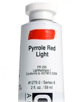 Golden Heavy Body Acrylic - Pyrrole Red Light #1279