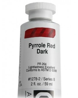 Golden Heavy Body Acrylic - Pyrrole Red Dark #1278