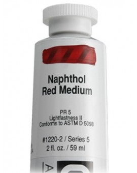 Golden Heavy Body Acrylic - Naphthol Red Medium #1220