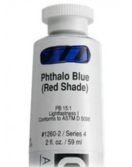 Golden Heavy Body Acrylic - Phthalo Blue (Red Shade) #1260