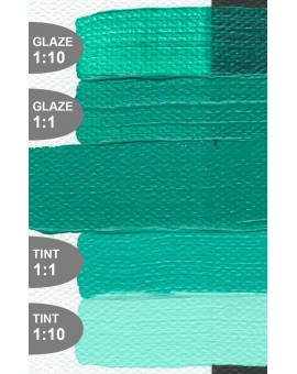 Golden Heavy Body Acrylic - Light Turquois (Phthalo) #1564