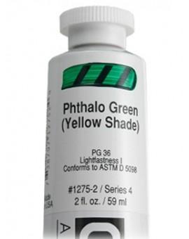 Phthalo Green (Yellow Shade) - Golden Heavy Body Acrylic