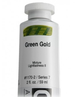Golden Heavy Body Acrylic - Green Gold #1170
