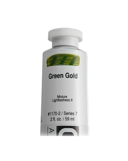 Golden Heavy Body Acrylic - Green Gold #1170