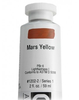 Mars Yellow - Golden Heavy Body Acrylic