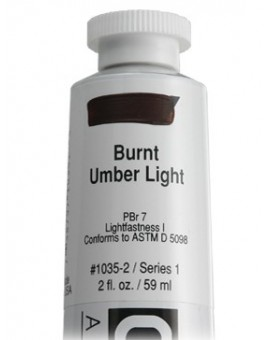 Burnt Umber Light - Golden Heavy Body Acrylic
