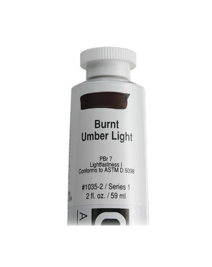 Golden Heavy Body Acrylic - Burnt Umber Light #1035