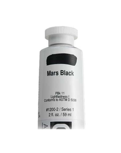 Golden Heavy Body Acrylic - Mars Black #1200