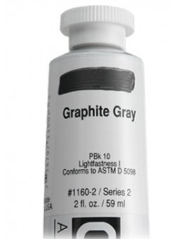Golden Heavy Body Acrylic - Graphite Gray #1160