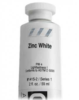 Zinc White - Golden Heavy Body Acrylic