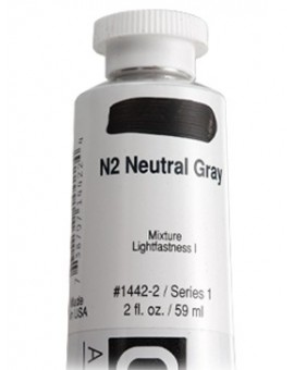 N2 Neutral Gray - Golden Heavy Body Acrylic