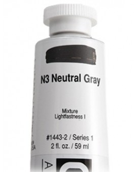 N3 Neutral Gray - Golden Heavy Body Acrylic