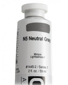 N5 Neutral Gray - Golden Heavy Body Acrylic