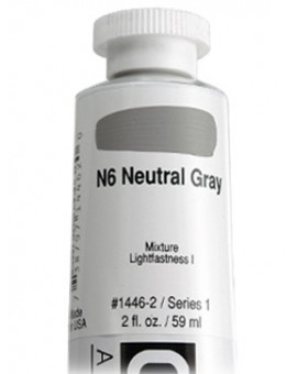 N6 Neutral Gray - Golden Heavy Body Acrylic