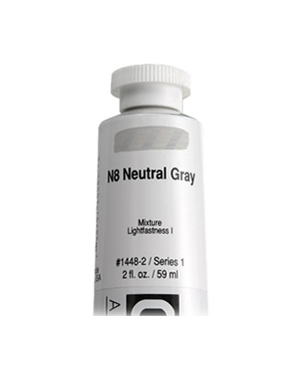 Golden Heavy Body Acrylic - N8 Neutral Gray #1448