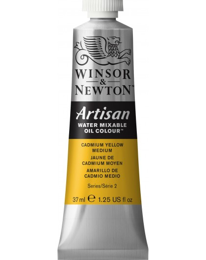 W&N Artisan Oil Colour - Cadmium Yellow Medium tube 37ml