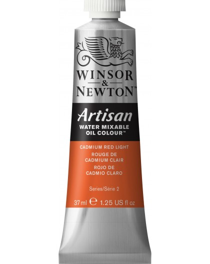 W&N Artisan Oil Colour - Cadmium Red Light tube 37ml