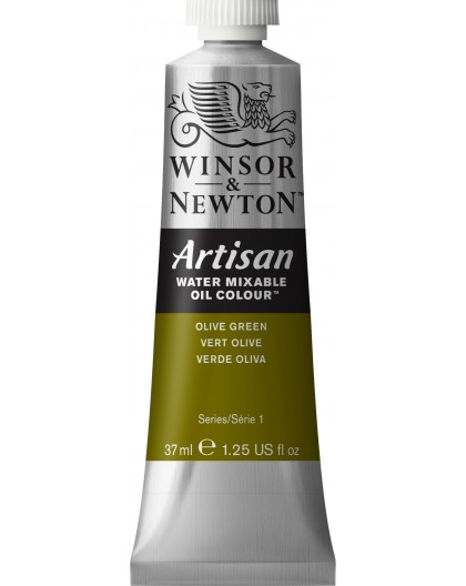 W&N Artisan Oil Colour - Olive Green tube 37ml