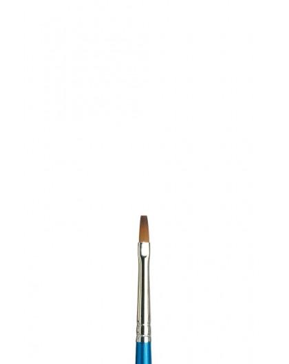 Cotman recht penseel met korte steel (S666) 3mm