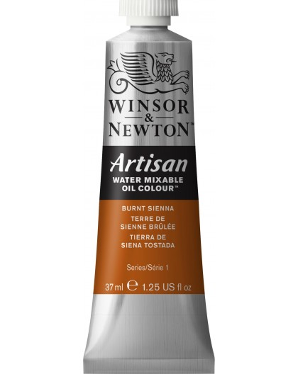 W&N Artisan Oil Colour - Burnt Sienna tube 37ml