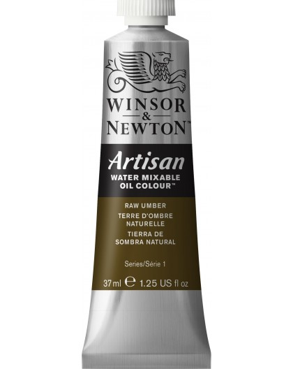 W&N Artisan Oil Colour - Raw Umber tube 37ml