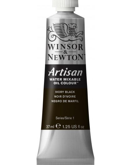 W&N Artisan Oil Colour - Ivory Black tube 37ml