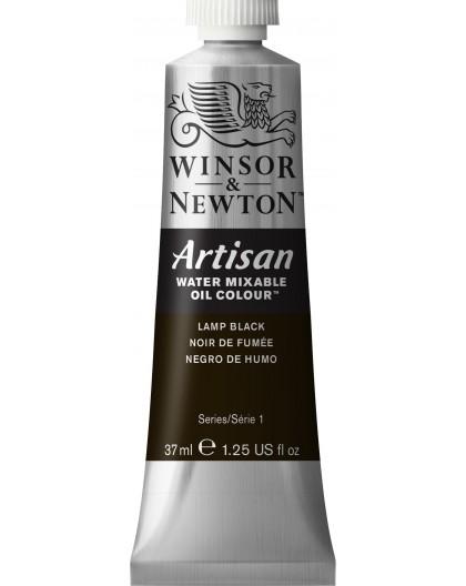 W&N Artisan Oil Colour - Lamp Black tube 37ml