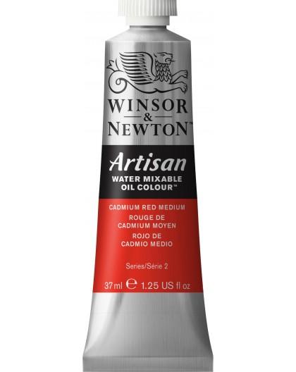 W&N Artisan Oil Colour - Cadmium Red Medium tube 37ml