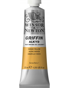W&N Griffin Alkyd Colours Indian Yellow (319)