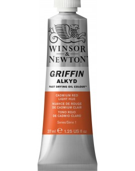 W&N Griffin Alkyd Colours Cadmium Red Light Hue (101)