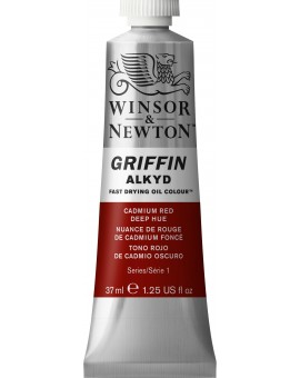 W&N Griffin Alkyd Colours - Cadmium Red Deep Hue (098)