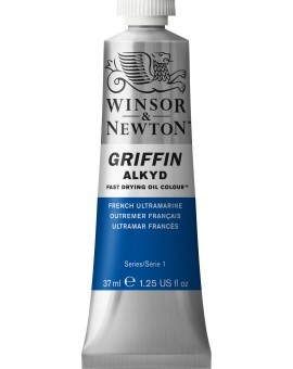 W&N Griffin Alkyd Colours - French Ultramarine (263)