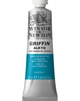 W&N Griffin Alkyd Colours - Cerulean Blue Hue (139)