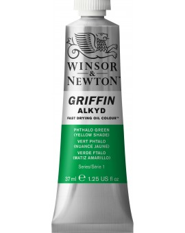 W&N Griffin Alkyd Colours - Phtalo Green Yellow Shade (521)