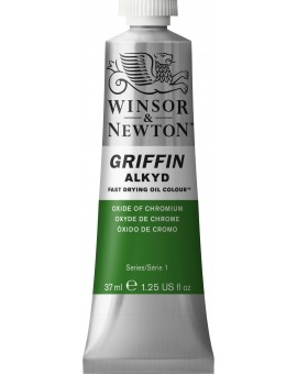 W&N Griffin Alkyd Colours - Oxide of Chromium (459)