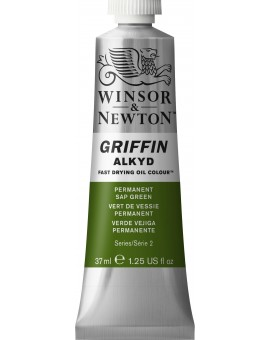 W&N Griffin Alkyd Colours - Permanent Sap Green (503)