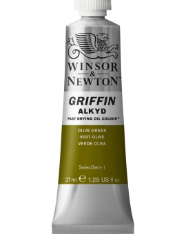 W&N Griffin Alkyd Colours - Olive Green (447)
