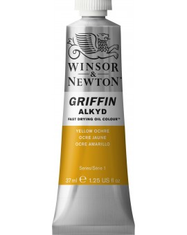W&N Griffin Alkyd Colours - Yellow Ochre (744)