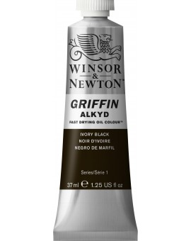W&N Griffin Alkyd Colours - Ivory Black (331)