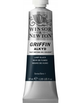 W&N Griffin Alkyd Colours - Lamp Black (337)