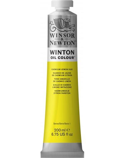 W&N Winton Oil Colour - Cadmium Lemon Hue tube 200ml