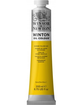 W&N Winton Oil Colour - Chrome Yellow Hue (149)
