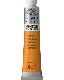 W&N Winton Oil Colour - Cadmium Yellow Deep Hue (115)
