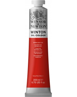 W&N Winton Oil Colour - Vermilion Hue (682)