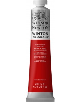 W&N Winton Oil Colour - Cadmium Red Deep Hue (098)