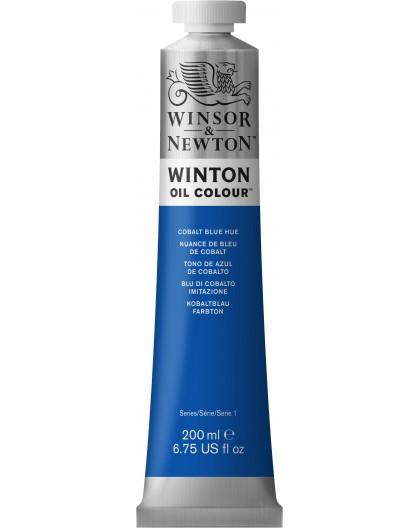 W&N Winton Oil Colour - Cobalt Blue Hue tube 200ml