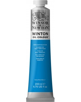 W&N Winton Oil Colour - Cerulean Blue Hue (138)