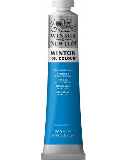 W&N Winton Oil Colour - Cerulean Blue Hue tube 200ml