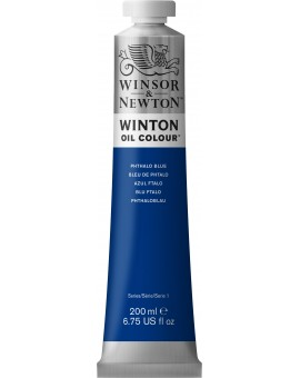 W&N Winton Oil Colour - Phtalo Blue (516)